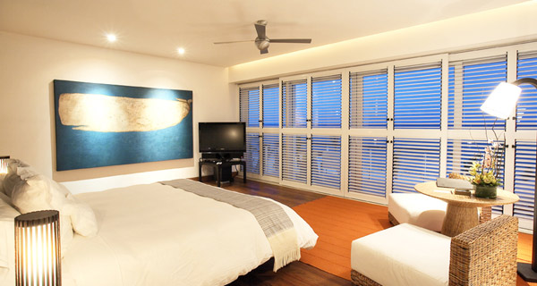 Beach Front Presidential Suite at Blue Diamond Luxury Boutique Hotel